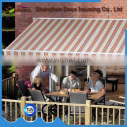 China factory cheap prices motorized waterproof Home Retractable Awnings for balcony/patio Quality Choice