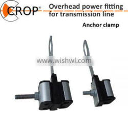 Two to Four Cores Power Line Connecting Strain Clamp/Insulated Strain Cable Anchoring Clamp