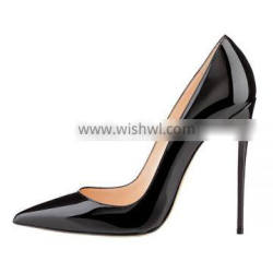 FJ-083 Pointed Toe brand new latest design 10cm high heels shoes woman high heel shoes woman ladies cut shoes 2016 Supplier's Choice