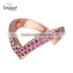 Handmade jewelry diamond ring gold plated jewelry engagement ring prices Super quality jewellry