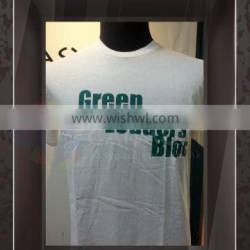Tailor made Fashionable Logo Printing male Round Neck Short Sleeves T shirt