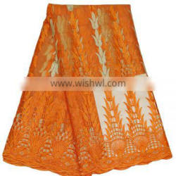 New arrival top quality different design embroidery net lace fabric for dress K16040805