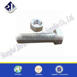 online shopping carbon steel electric galvanized hex bolts and nuts Supplier's Choice