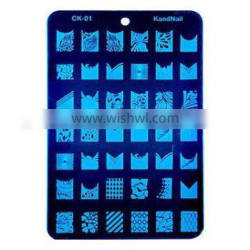 Professional Nail Salon Nail Art Stamping Image Plate 18styles for your choice HN1351
