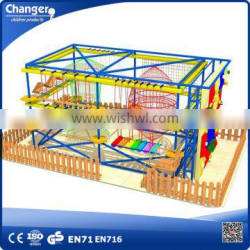 New outdoor high ropes courses adventure, challenge course equipment, obstacle course equipment
