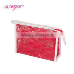 Hot sell Popular Ladies Lace PVC cosmetic bag