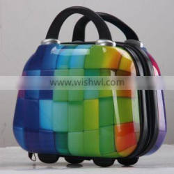 ABS+PC waterproof 12 inch makeup bag luggage cases