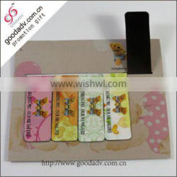 Good office school supplies folding magnetic bookmarks