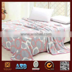 promotional cheap coral fleece bed sheet