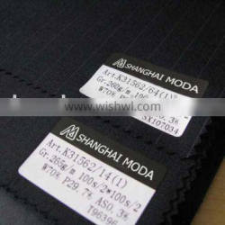 blended worsted wool fabric w70/p30 moda-t121