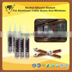 Neutral Silicone Sealant For Aluminum Trailer Doors And WIndows