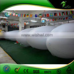 Commercial Promotion Customized Logo RC Zeppelin , Inflatable Advertising RC Airship , LED RC Blimp