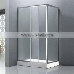 bath and shower combination TB-T3310 simple glass cheap bath glass room bath and shower combination