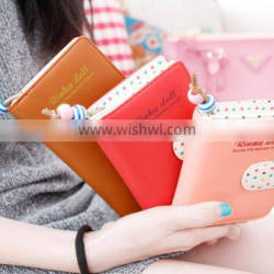 Plastic women wallet 2015 made in China