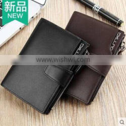 Most Polular Man's Pu Wallet, Leather Wallet With Embossed Logo