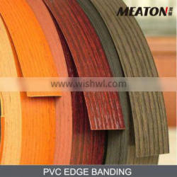 smooth surface solid PVC edge banding
