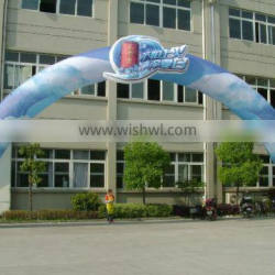 advertising outdoor custom digital printing inflatable arch for sale