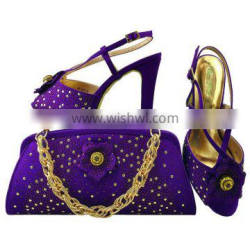 2016 High quality shoes and bags Italian Shoes And Matching Bag Q16012502