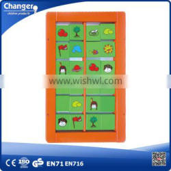 children preschool wall wooden educational toy wall puzzle game intelligent toys for kids