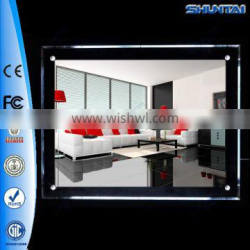 customized ad led acrylic display easels