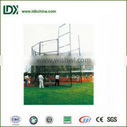 China newest design track and field equipment for top grade competition