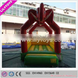 Elephant theme giant inflatable indoor bouncer for kids