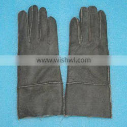 whole lamb leather gloves made by machine,KZ140036