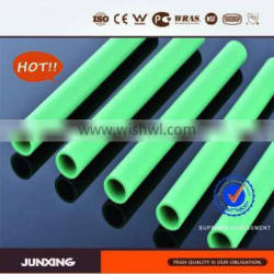 green ppr water pipe/ppr large-diameter pipe elbow/ppr pipe heating machine