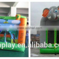 HI hot sale outdoor elephant inflatable bouncy castle ,funny and charmming bouncy castle for sale