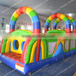 new design inflatable obstacle course
