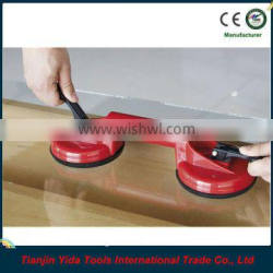 double head suction cup glass lifter
