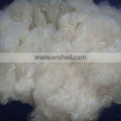 3DX64MM Raw White Non-siliconized polyester staple fiber/3DX64MM raw white PSF