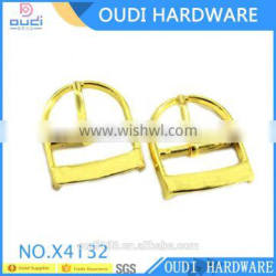 High Quality Shiny Light Gold Zinc Alloy Pin Buckles For Woman Bag