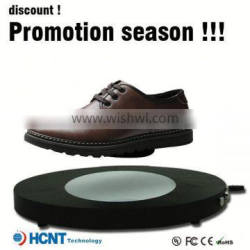 new invention ! magnetic levitating led display stand for shoe woman,quality leather shoes in china