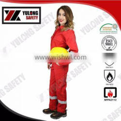 OEM High Quality Fire Resistant Workwear Flame Resistant Work Clothes