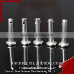 Carbon Steel Clevis Pins With Head and Hole