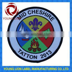 cub scout capers patch/embroidery badge