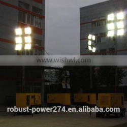 4x2000W metal halide lamp floodlights mobile light tower customized