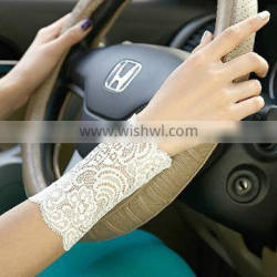 High Quality ladies cover scars sexy lace party gloves uv gloves