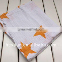 100% Cotton Baby Muslin Wraps, Baby Blanket, Muslin Blanket, small order available