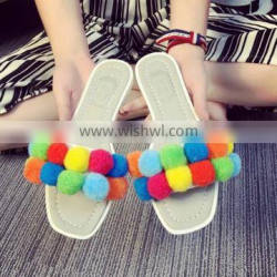 LM3175Q summer women flat slippers fashion outdoor sandal slippers