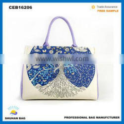 hot sales chinese hand bag, fashional ladies bag popular canvas bags