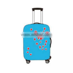 2017 unique hot selling polyester dustproof luggage cover