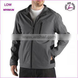 2016 Custom high quality waterproof jacket softshell with contract fabric