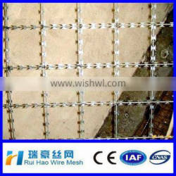 Hot Sale CBT-60 outside dia 400/500/700/690mmGalvanized Barbed Wire/ (factory)
