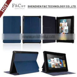 High quality Fashional leather case for amazon kindle fire hd 7.0