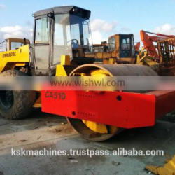 Used Single Drive Road Roller Dynapac CA51D for sale
