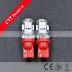 T10 5050 9SMD LED Red Car Clearance Light/Marker Light