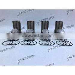 K4D Engine Liner Kit With Pistons Ring Set For Mitsubishi