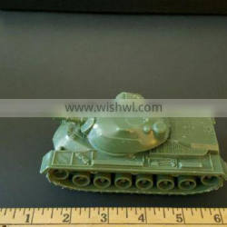 custom vintage green plastic army tank/oem made collective army game plastic toys/factory made kids plastic toys